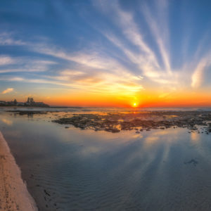 Majestic Sunrise Blue Bay