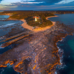 First Light at Norah Head Lighthouse