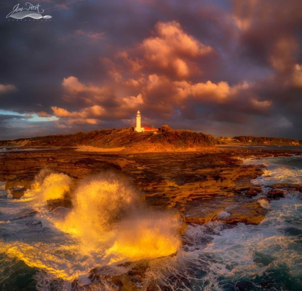 First Sun at Norah Head Lighthouse
