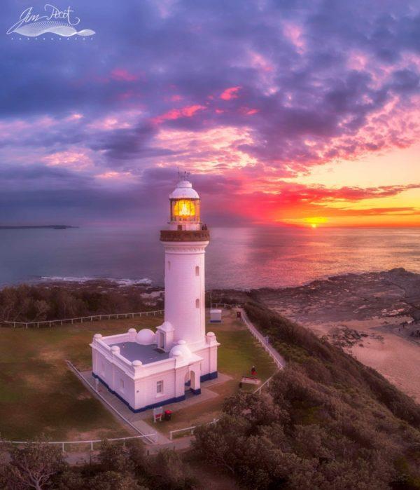 Sunrise at Norah Head Lighthouse