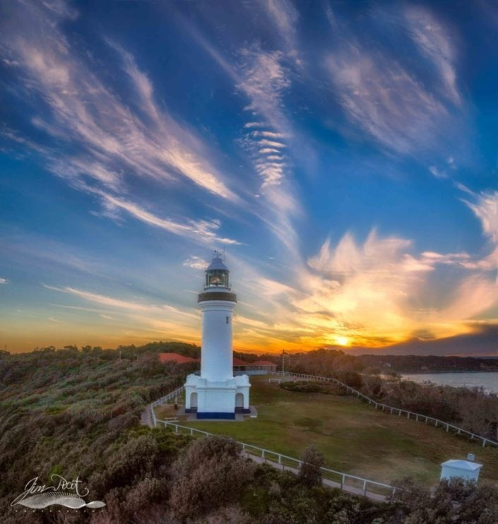 Sunset at Norah Head Lighthouse