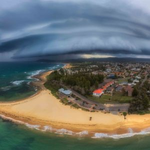 Approaching Storm at Toowoon Bay