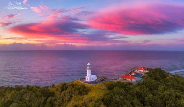 Byron Bay Lighthouse Sunrise