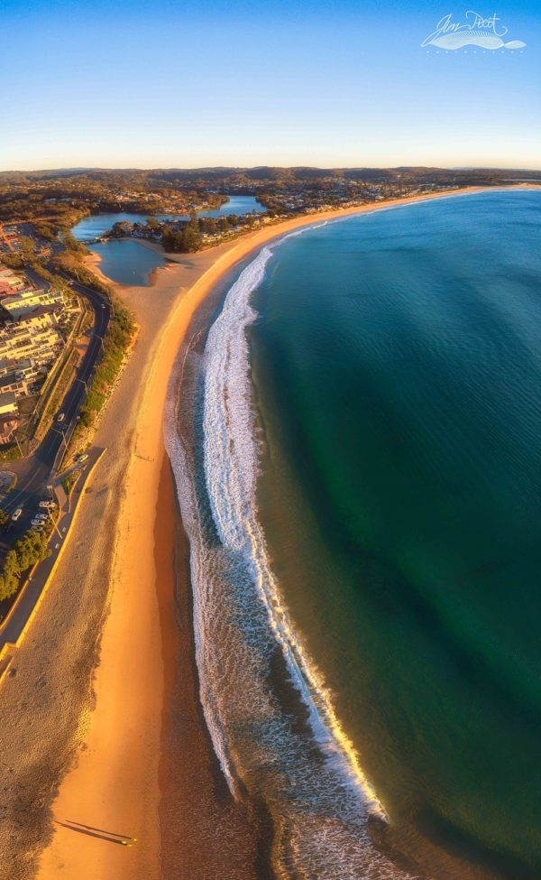 Early Light on Terrigal & Wamberal Beaches
