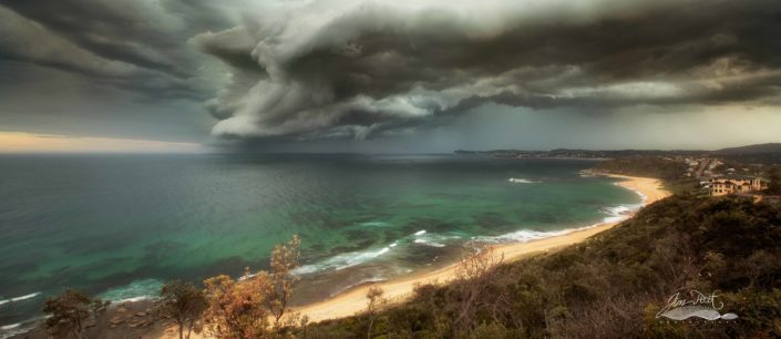 Forresters Beach Storm
