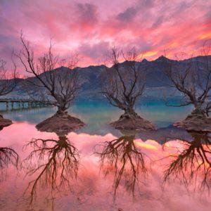 Glenorchy Sunset New Zealand