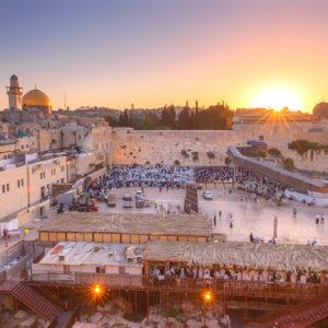 Jerusalem Sunrise Israel