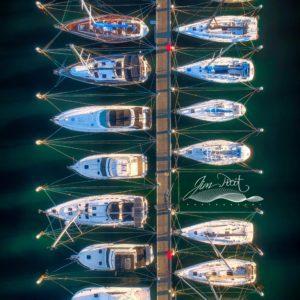 Lake Macquarie Boats in Morning Light