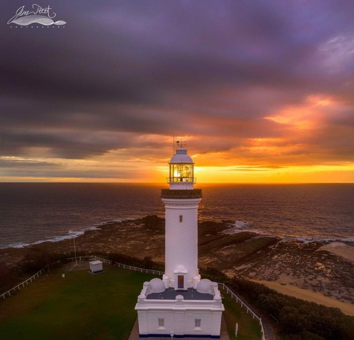 Norah Head Lighthouse Sunrise 2