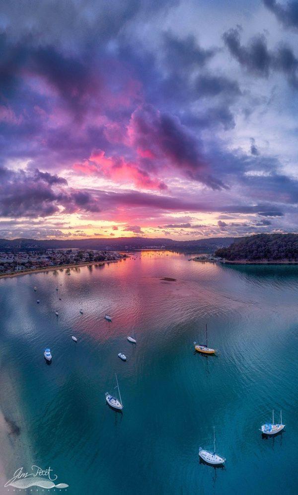Stunning Ettalong Sunrise