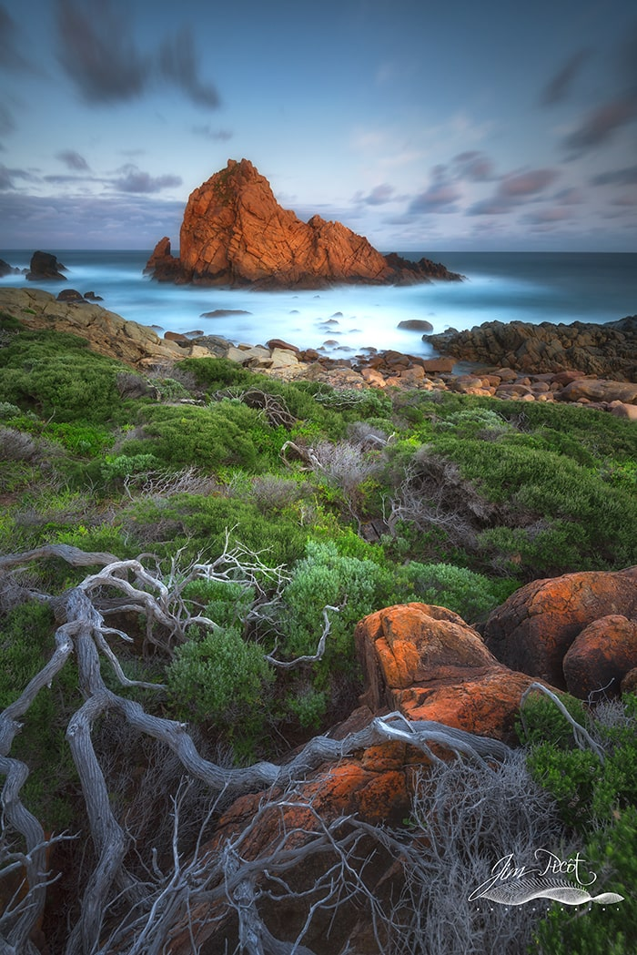 Sugar Loaf Rock Sunrise Western Australia