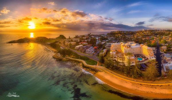 Terrigal Beach Sunrise