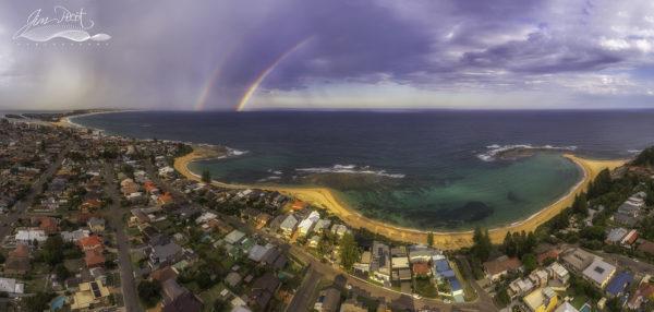 Toowoon & Blue Bay Sunset Rainbow